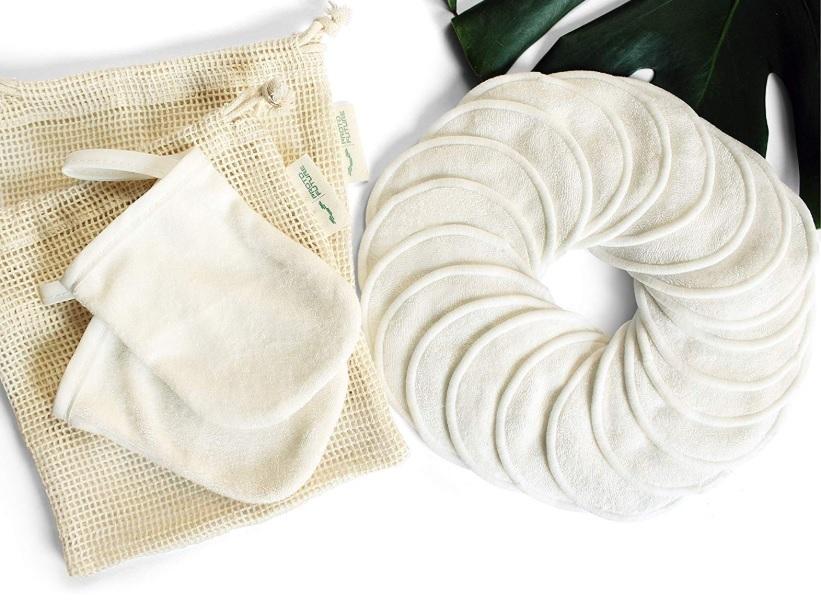 Disco desmaquillante de bambú, reutilizables y 100% ecológico.