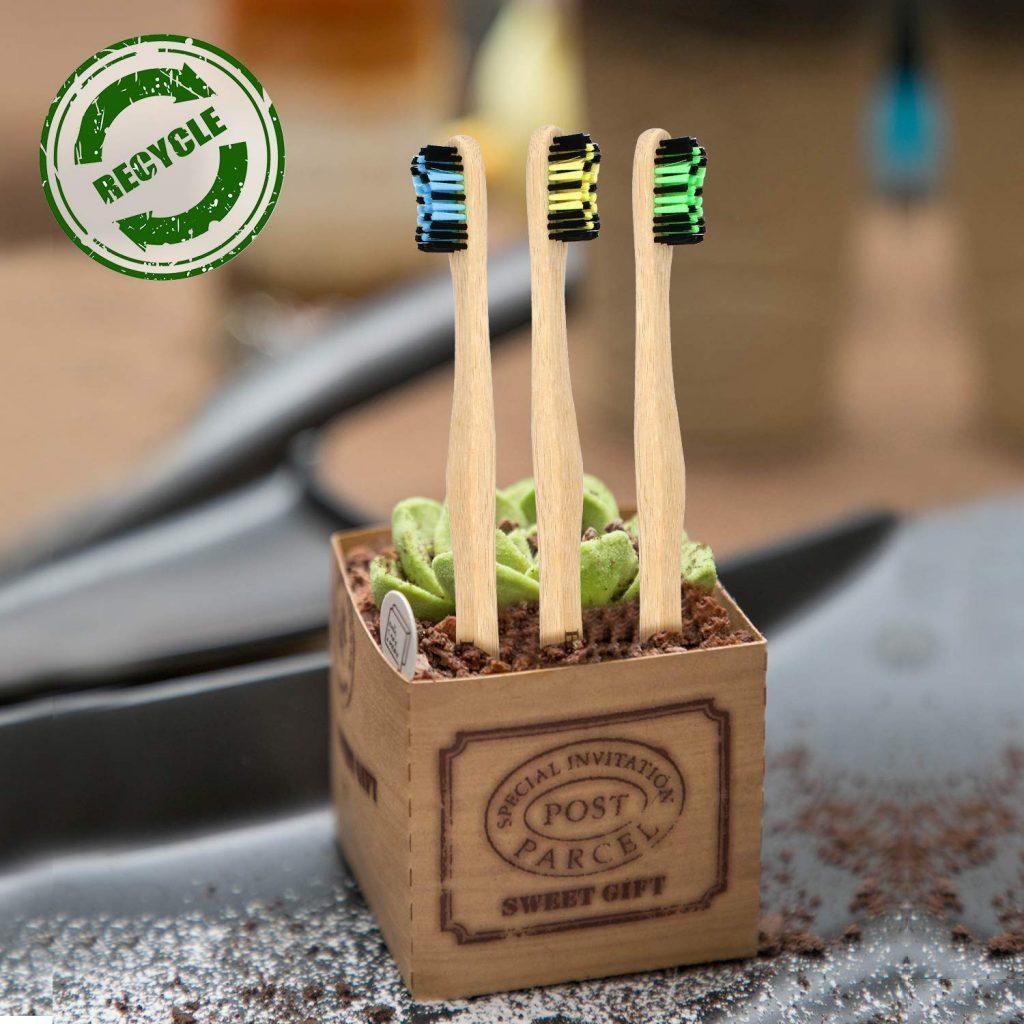 Cepillo de diente ecológico.