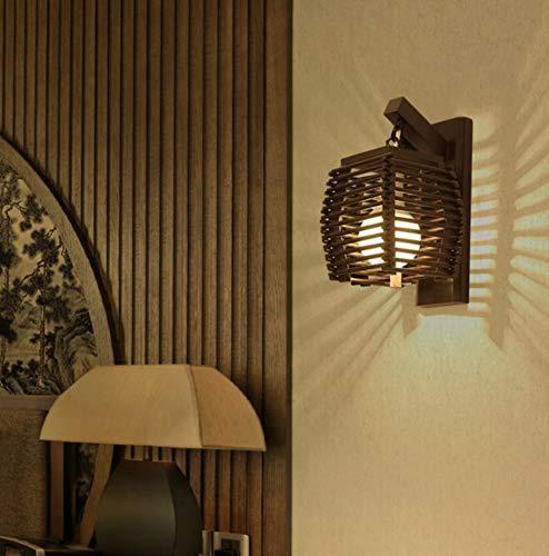 Aplique de bambú.